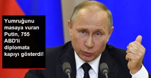 Putin, Rusya'daki 755 Amerikalı Diplomata Kapıyı Gösterdi