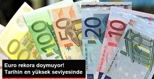 Euro, 4,20 TL ile Tarihin En Yüksek Seviyesinde