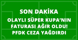 PFDK, Konyaspor'a 5, Beşiktaş'a 1 Maç Seyircisiz Oynama Cezası Verdi