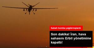 İran, Hava Sahasını Erbil Yönetimine Kapattı
