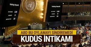 ABD'den BM'ye Kudüs oylaması intikamı