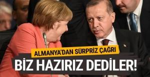 Almanya'dan Türkiye'ye sürpriz çağrı