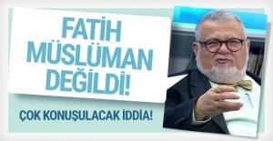 Celal Şengör'den Fatih Müslüman değildi iddiası