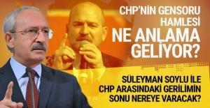 CHP, Soylu hakkında gensoru verdi! Peki şimdi ne olacak?