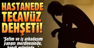 Ergani Devlet Hastanesi'nde erkek temizlik işçisine tecavüz dehşeti