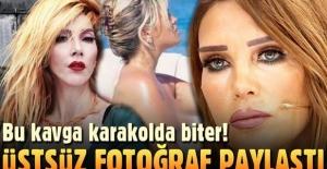 Hande Yener ve Seren Serengil birbirine girdi: Hande, Seren'in üstsüz fotoğrafını paylaştı