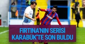 Karabükspor Trabzonspor maçı