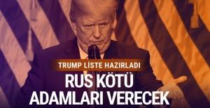 Trump, Rus 'kötü adamlar' listesi sunacak