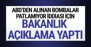 'TSK'nın bombaları sahte' iddiasına cevap geldi