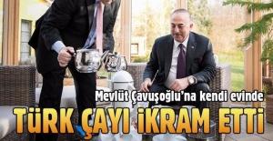 Alman Dışişleri Bakanı'ndan Çavuşoğlu'na Türk çayı