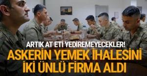 Askerin yemeğini Ülker, sütünü Pınar Süt verecek...