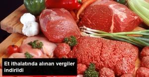 Et İthalatında Vergi Yüzde 40'a İndirildi
