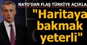 """NATO'dan flaş Türkiye açıklaması! """" Haritaya bakmak yeterli!"""""""