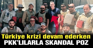 Peş peşe skandallar… PKK'ya 100 milyon $ yardım ve PKK'lılarla poz!