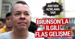 ABD, rahip Brunson'un serbest bırakılması çağrısını yineledi
