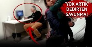 Adana'da hastanede skandal görüntü!