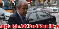 Çatı adaya AK Parti'den ilk yorum...