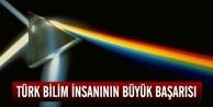 Türk bilim insanının büyük başarısı...