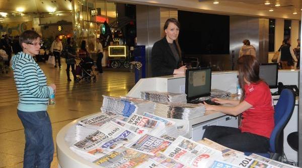 Thy'den,  Zaman Ve Bugün Gazetelerinin Dağitimina Yeni Uygulama