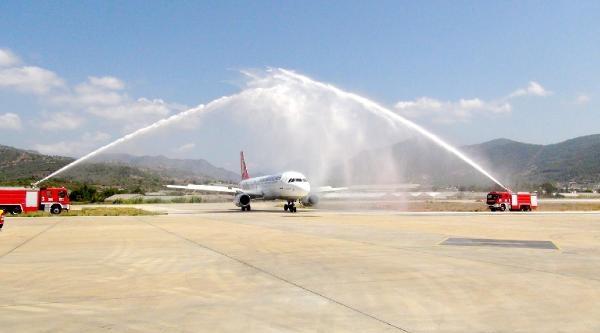 Thy'nin Gazipaşa Havalimanı Seferleri Başladı-ek Fotoğraflar