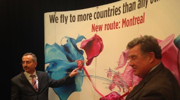 Thy'nin Montreal'e Direkt Uçuşları Başladı