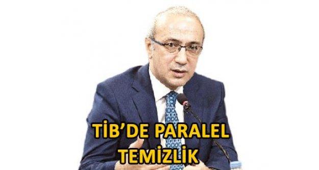 TİB'de paralel temizlik