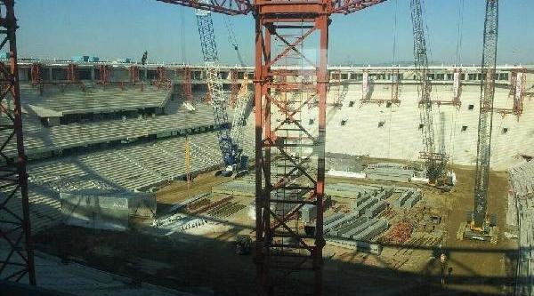 Timsah Arena Çatisinda Son Tura Giriliyor