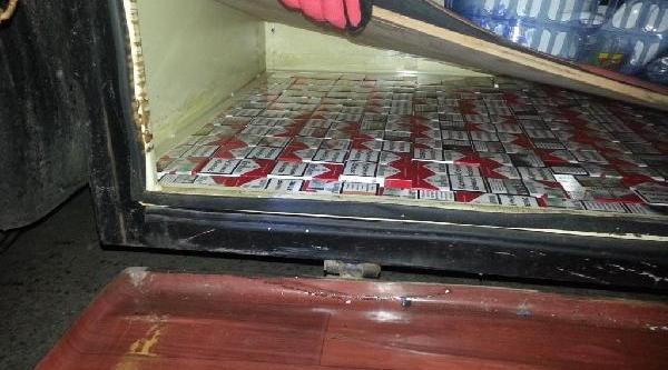 Tir'da 2 Bin 860 Paket Kaçak Sigara Ele Geçirildi