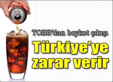 TOBB'dan boykot eleştirisi: Türk ekonomisine zarar