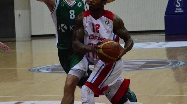 Tofaş - Krka Novo Mesto Euro Chalenge Basketbol Maçi Fotoğraflari
