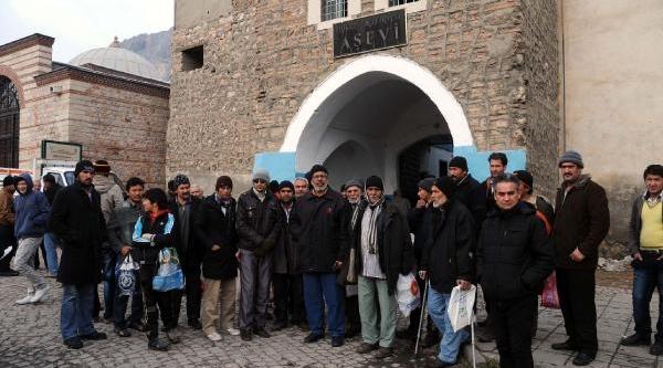 Tokat'ta Afgan Göçmenlerden Kömür Eylemi