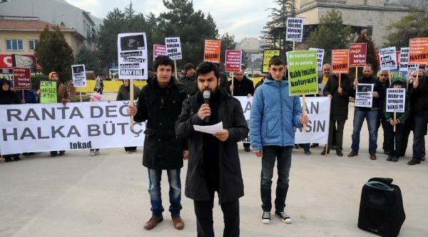 Tokat'ta Akaryakita Zammi Protesto Edildi