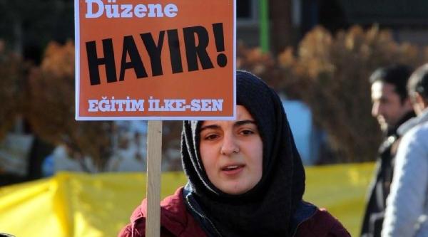 Tokat'ta Asgari Ücret Zammi Protesto Edildi