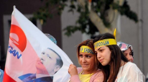 Tokat'ta 'erdoğan' Coşkusu