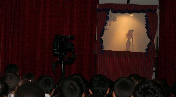 Tokat'ta Hacivat-karagöz Oyunu İle Kene Eğitimi