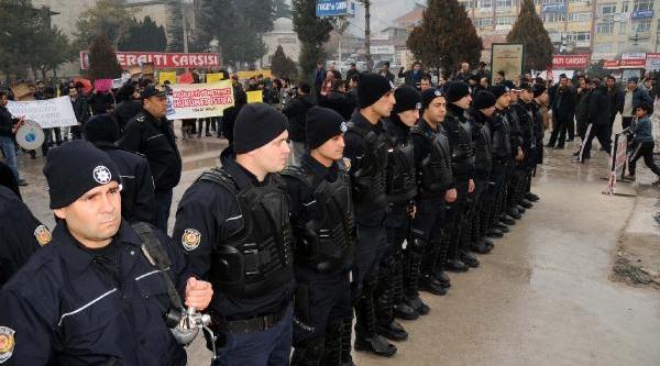 Tokat'ta Hükümete Tepki Eyleminde Gerginlik