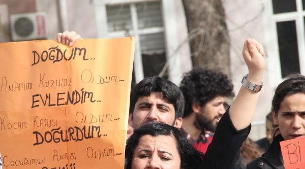 Tokat'ta Kadınlar Günü Yürüyüşü