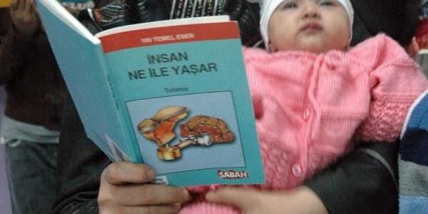 Tokat'ta Kitap Okuma Etkinliği