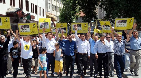 Tokat'ta 'rabia Günü' Yürüyüşü