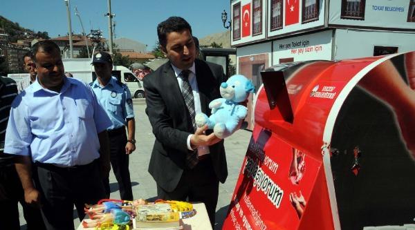 Tokat'ta 'saklamıyorum, Paylaşıyorum' Kampanyası