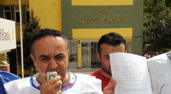 Tokat'ta Türk Eğitim Sen'den Suç Duyurusu