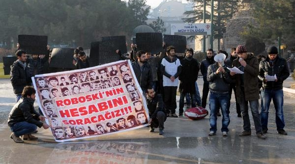 Tokat'ta Uludere Protestosunda Gerginlik