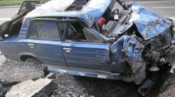 Top Mermisi Otomobilin Sadece Birkaç Metre Önüne Böyle Düştü