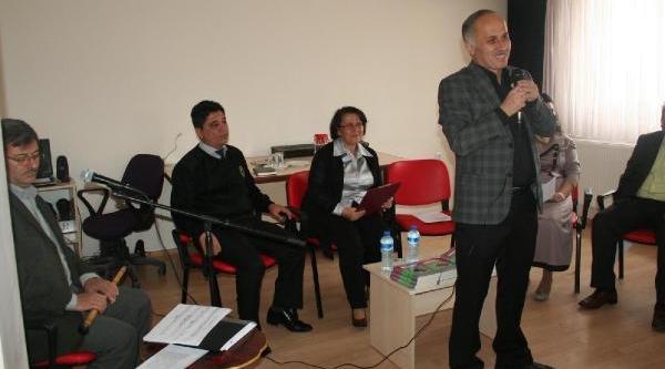 Toplum Ruh Sağliği Merkezi'Nde Şiir Dinletisi