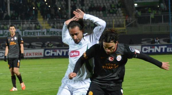 Torku Konyaspor- Galatasaray Fotoğrafları