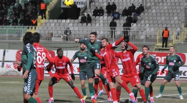 Torku Konyaspor-Kardemir Karabükspor Fotoğraflari