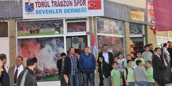 Torul'da Trabzonspor Sevenler Derneği Açildi