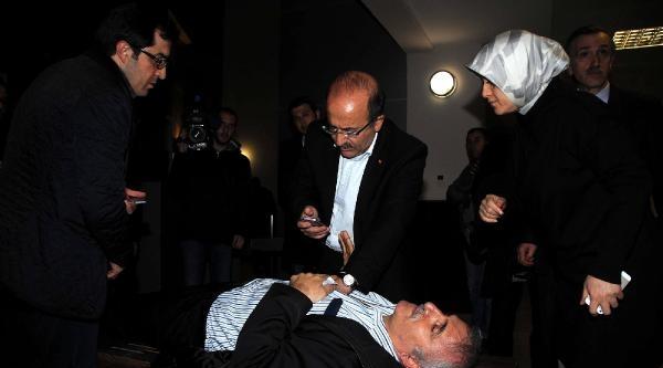 Trabzon Adliyesi'de Kalp Spazmı Geçiren Kişiye Belediye Başkanı Müdahale Etti