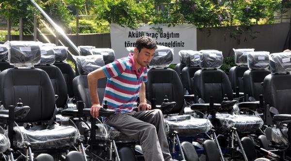 Trabzon'da 89 Engelli Vatandaşa Akülü Araç