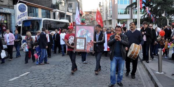 Trabzon'da Chp'Den 29 Ekim Kutlamasi